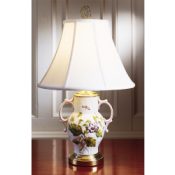 Mottahedeh Chelsea Botanical Two-Handled Lamp