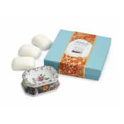 Mottahedeh Tobacco Leaf Heirsavonare Gift Soap Set